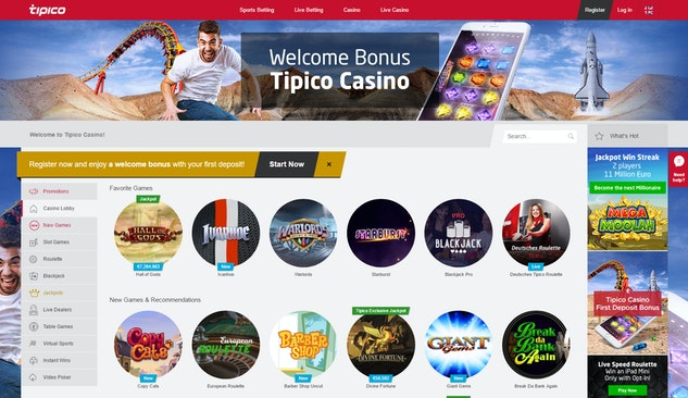 Tipico Casino Neu